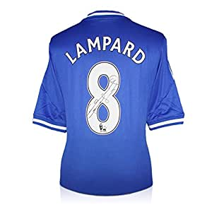 Frank Lampard Chelsea Signé 2013-14 maillot