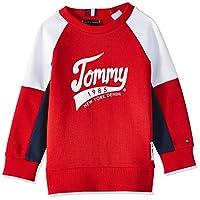 Tommy Hilfiger Boy's 1985 Sweatshirt, Red, 10 Years