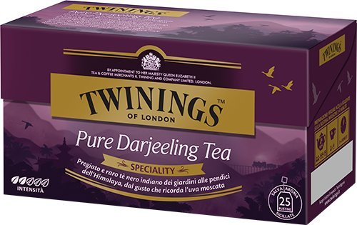 Twinings Pure Darjeeling Tea 25 filtri