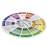 Baosity Artista Tatuaggio Colore Pigmento Vernice Miscelazione Guida Tavolozza Corrispondenza Grafico Scheda Colore Selezione Strumento