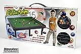 Giochi bambini mini biliardo da tavolo smontabile completo di accessori 100191