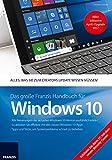 Das große Franzis Handbuch für Windows 10 Update 2017: Creators Update