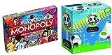 World Football Stars - Monopoly - Top Trumps - Trivial Pursuit - Monopoly & Trivial Pursuit