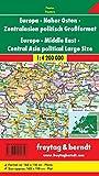 Europa  Naher Osten  Zentralasien politisch Großformat, plano in Rolle, IN: 1:4 200 000