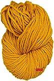 #7: M.G Golden Chunky yarn 400 gm
