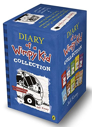 Price comparison product image Diary of a Wimpy Kid Collection - 10 Books Set