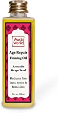Auravedic Firming Age Repair Oil- Rich in Super Foods Avocado & Grapeseed.