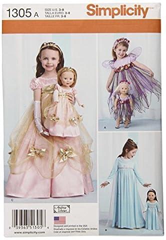 Usa Costume Pour Kid - Simplicity 1305Taille d'un enfant de Costumes et