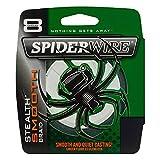 Spiderwire Smooth 8 Tresse Mixte, Vert Mousse, 300 m/0.20 mm