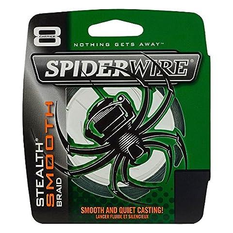 Spiderwire Unisex Smooth 8 Braid, Moss Green, 150 m/0.08 mm