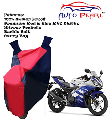 autopearl 100% water proof pvc bike body cover with mirror pockets, buckle belt, carry bag - yamaha yzf r15 Autopearl 100% Water Proof Pvc Bike Body Cover With Mirror Pockets, Buckle Belt, Carry Bag – Yamaha Yzf R15 51SCu c1t8L