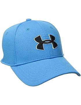 Under Armour Sportswear - Cap Blitzing II - Gorra de Golf para Hombre, Azul y Negro, L/XL
