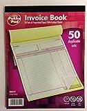 Pukka Pad  DU8142 - Libro de facturas, 50 hojas autocopiativas tamaño A4 (214x 273mm)