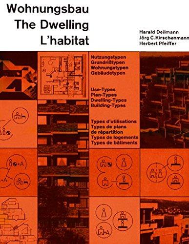Wohnungsbau: Nutzungstypen. Dt./Engl./Franz. (Dokumente der modernen Architektur)