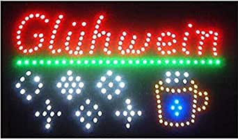 led bouclier enseigne lumineuse xxl objet publicitaire luminaire publicit afficher signes vin. Black Bedroom Furniture Sets. Home Design Ideas