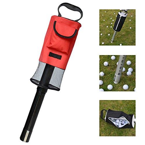 Faway Golf Ball Picker, fawayportable Golf Ball Picker Pick-Ups Retriever Tasche Aufbewahrungstasche Portionieren Gerät