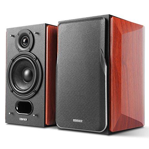 Edifier P17Passive Lautsprecher-2-Wege-Lautsprecher mit integrierter Wandhalterung Wandhalter-Perfekt für 5.1, 7.1oder 11,1Seite/hinten Surround Setup-Paar