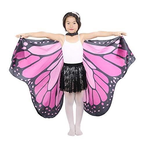 UWOOD Bauchtanz Fee Schmetterling Engel Isis Flügel mit ()