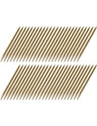 50 Rosenholzstäbchen Manikürstäbchen Hufstäbchen aus bayer. Buche - 120mm lang - Ø 4mm