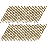 10, 25o 50Rose Madera Varillas manikürs täbchen empujacutículas (de Bayer. Haya–120mm largo, 4mm de diámetro