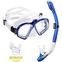 WEINAS Premium Schnorchelset Taucherbrille mit Schnorchel (gopro stand) 100% wasserdichte
