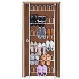 HBlife Support Chaussures Porte Blanc 18 Paires Rangement Chaussure à Suspendre Organisateur Mural