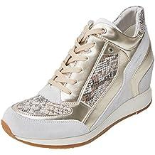 Geox Nydame A, Zapatillas Altas para Mujer