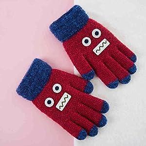 Unbekannt XIAOYAN Handschuhe Kind-Handschuhe warme Winter-Baby-Fäustlinge für 4-7 Jahre alt Bequem
