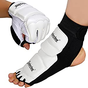 Xinluying MMA UFC Taekwondo Boxing Foot Sock Pads Martial Art Sparring Puncing Bag Protective Gear Kids Womens Men