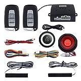 Easyguard, allarme auto sistema PKE (accesso passivo senza chiavi), apertura e chiusura automatica, avviamento motore a distanza, universale, adatto per auto dc12v ec003n-k