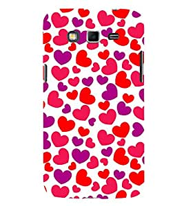 Little Heart 3D Hard Polycarbonate Designer Back Case Cover for Samsung Galaxy Grand 2 G7102 :: Samsung Galaxy Grand 2 G7106