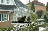 dobar 11503 Fenster-Vogelhaus-Futterspender aus Kunststoff, Futterhaus-Futterstation transparent zum Aufhängen, mit Saugnäpfen, 24 x 9.6 x 15 cm Test