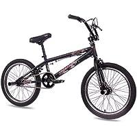 "20"" BMX BIKE KIDS FAITH 360 ROTOR FREESTYLE black - (20 inch)"
