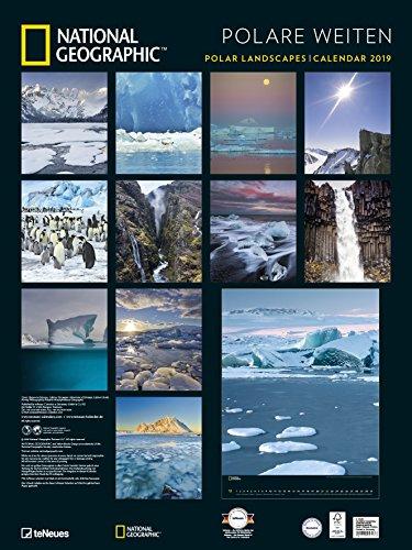 Polare Weiten 2019 National Geographic - National Geographic-Kalender, Wandkalender, Posterkalender, Naturkalender - 48 x 64: Alle Infos bei Amazon