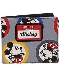 Disney Mickey Circles Porte-monnaie, 10 cm, 0.19 liters, Bleu (Azul)