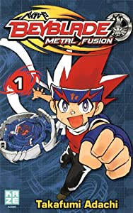 Beyblade Metal Fusion / Masters / Fury Edition simple Tome 1