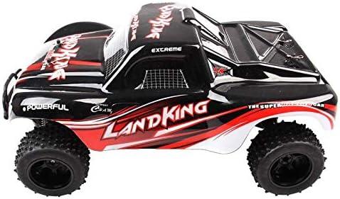 Monster Truck RC LK SERIES RACING Land-King 1:10 2.4G (Noir) (Noir) (Noir) | Choix Des Matériaux  cbe940