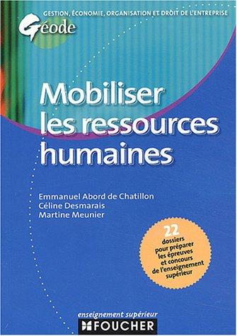 Géode : Mobiliser les ressources humaines