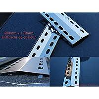 400mm x 170mm Parrilla barbacoa de acero inosidable para parillas barbacoa (400-170-1)