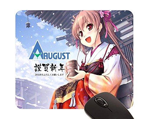 beautiful-girl-august-bekkankou-miko-sen-no-hatou-tsukisome-kouki-shiinoha-kotone-mouse-pad-22x18cm