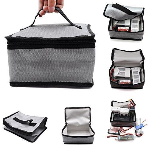 LiPo batteria Borsa 20x11x15cm per DJI Mavic 2 ,Mavic Air spark, Mavic Pro Platinum, Phantom 3, 4 Phantom, Q500, Tifone H, RC Helicopter batteria