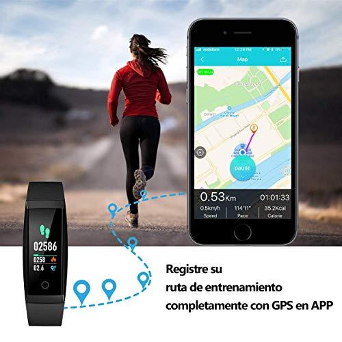 Zoom IMG-1 winisok fitness tracker braccialetto cardio