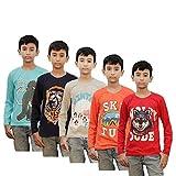 Kothari boys t.shirt combo pack of 5