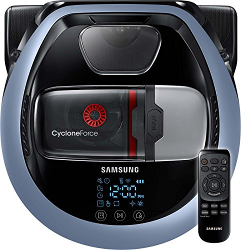 *Samsung VR7000 VR1DM7020UH/EG POWERbot Saugroboter (80W extra starke Saugkraft, ideal für Teppiche und Tierhaare, saubere Ecken, Intelligente Navigation, Fernbedienung, Startzeit-Vorwahl) blau*