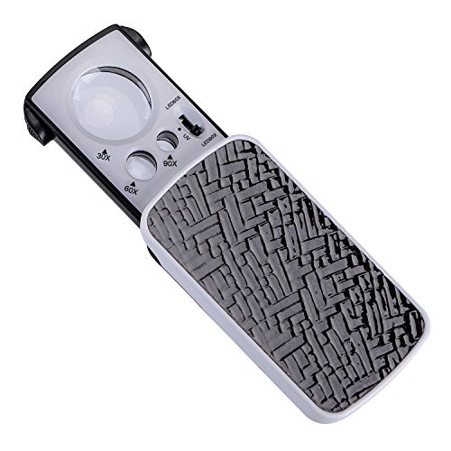 XYK LED Slide Out Pocket Magnifying Glass and