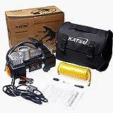 Katsu 451717 Heavy Duty Tyre Inflator 12V Car Van Tire Air Compressor 5M Extendable Airline Hose