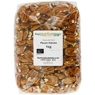 Buy Whole Foods Online  Organic Pecan Nut Halves 1 Kg