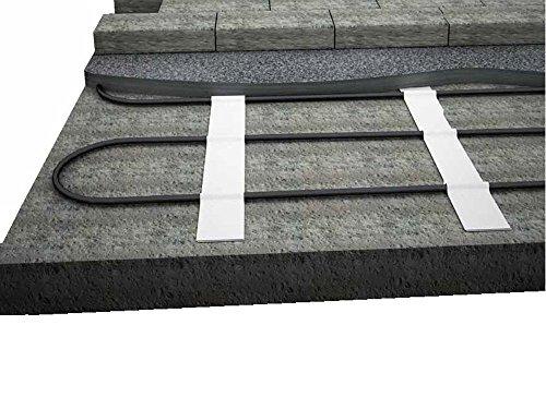 Elektro Freiflächenheizung - verhindern Sie gefährliche Glatteisbildung im Außenbereich, nie wieder Schnee schaufeln, Fläche:2.5 qm
