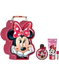 Disney Coffret Cadeau Tin Set Minnie 4 Pièces