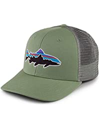 Patagonia Fitz Roy Trout Trucker Hat Gorra, Unisex Adulto, Matcha Green, Talla Única